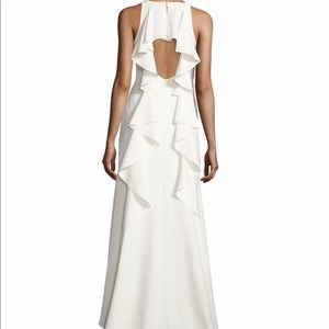 Nicole Miller New York Women's White Gown Size 6